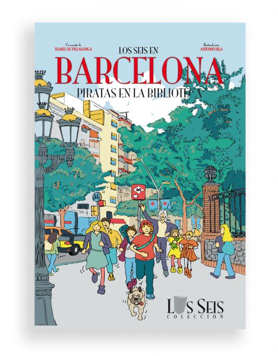 Los seis en Barcelona - 1