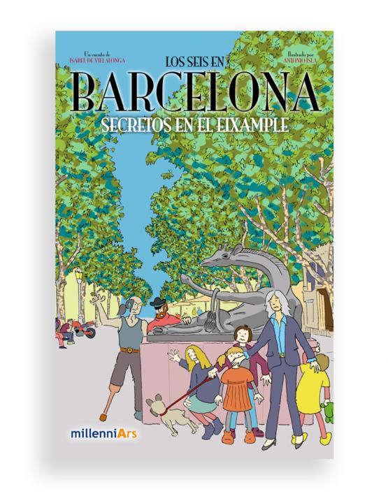 los seis en barcelona libro3
